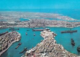 MALTA PORTO GRANDE   VIAGGIATA - Malta