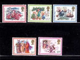 Great Britain 1982 Christmas 5v ** Mnh (39921A) - 1952-.... (Elizabeth II)