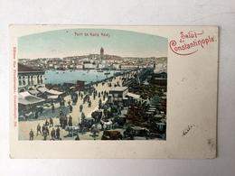 AK  TURKEY  CONSTANTINOPLE   1900. - Turquie