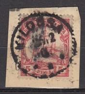 DUITSE KOLONIEN - OOST-AFRIKA  1901  Michel  13   KILOSSA , See  Scan ,used/VF   [DK  370  ] - Colonie: Afrique Orientale
