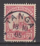 DUITSE KOLONIEN - OOST-AFRIKA  1905  Michel   24    TANGA , See  Scan ,used/VF   [DK  378  ] - Colonie: Afrique Orientale