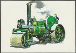 Aveling & Porter Steam Road Roller - Golden Era Postcard - Postcards