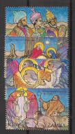 Zambia - 1992 - N°Yv. 570 à 573 - Noel / Christmas - Neuf Luxe ** / MNH / Postfrisch - Christianisme