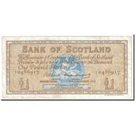 Billet, Scotland, 1 Pound, 1962, 1962-12-05, KM:102a, TTB - Ecosse