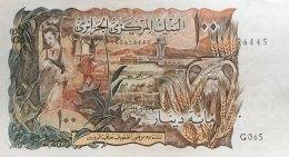 Algeria 100 Dinars, P-128b (1.11.1970) - EF/XF - Algeria