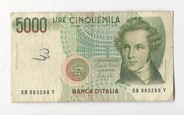 Italy 5000 Lire 1985 - [ 2] 1946-… : Républic