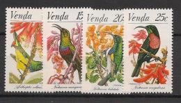 Venda - 1981 - N°Yv. 38 à 41 - Oiseaux / Birds - Neuf Luxe ** / MNH / Postfrisch - Non Classificati