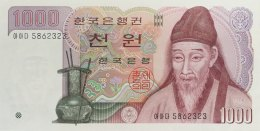 South Korea 1.000 Won, P-47 (1983) - UNC - Korea (Süd-)