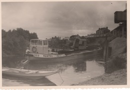 Photographie   Barge 933 Nantes - Pétroliers