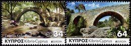 Cyprus - 2018 - Europa CEPT - Bridges - Mint Stamp Set - Cyprus (Republiek)