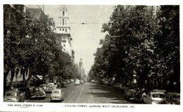 COLLINS STREET LOOKING WEST MELBOURNE - AUSTRALIA - Sin Clasificación