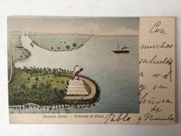 AK  PANAMA  CANAL   LITHO   1905. - Panama