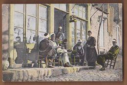 AC  - TURKEY SOUVENIR DE SMYRNE CAFE TURC EDITEUR J MOLKO POST CARD CARTE POSTALE - Turkey
