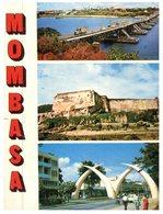 (ORL 90) Kenya- Mombasa (with Stamps At Back Of Card) - Kenya