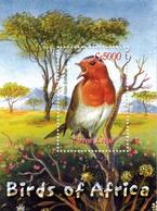 MDB-BK8-214-3  MINT PF/MNH ¤ SIERRA LEONE 2000 BLOCK  ¤ OISEAUX - BIRDS OF THE WORLD - PAJAROS - VOGELS - VÖGEL - Songbirds & Tree Dwellers