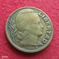 Argentina 20 Centavos 1948 KM# 48  Argentine - Argentine