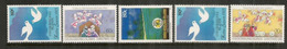 Festive Season Aux  îles COCOS (Océan Indien)  5  Timbres Neufs ** Côte 10 €, Année 1993 - Cocos (Keeling) Islands