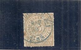 ALLEMAGNE - Confédération Du Nord - N° 6 --- 5 Bistre  Côte 12€ - North German Conf.