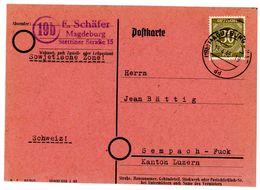 Nr. 928 EF Ins  Ausland - Michel 40 € Aus Magdeburg/SBZ - Sowjetische Zone (SBZ)