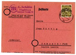 Nr. 928 EF Ins  Ausland - Michel 40 € Aus Magdeburg/SBZ - Zone Soviétique