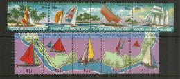 Navigation à Voile Aux  îles COCOS (Océan Indien)  9  Timbres Neufs ** Côte 15 € - Cocos (Keeling) Islands