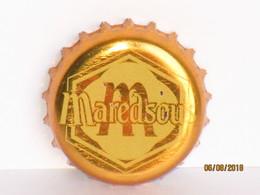 Capsules Ou Plaques De Muselet  Bière MAREDSOUS BLONDE - Bière