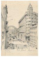 (595) Australia - NSW - Very Old Postcard - Pitt Street - Sydney
