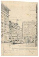 (595) Australia - NSW - Very Old Postcard - Martin Place - Sydney