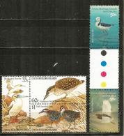 Oiseaux Des îles COCOS,   5 Timbres Neufs ** Côte 15,00 € - Cocos (Keeling) Islands