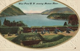 West Point, New York Showing Hudson River - NY - New York