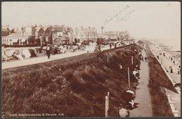 East Parade, Clacton-on-Sea, Essex, 1905 - Photochrom RP Postcard - Clacton On Sea