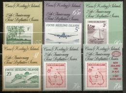 Timbres Sur Timbres,  6 Timbres Neufs **  Des îles COCOS. Côte 18,00 € - Cocos (Keeling) Islands