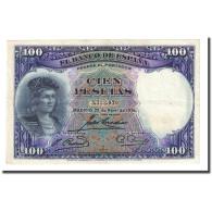 Billet, Espagne, 100 Pesetas, 1931-04-25, KM:83, TTB+ - [ 2] 1931-1936 : Republiek