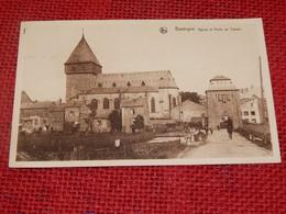 BASTOGNE  -   Eglise Et Porte De Trèves - Bastenaken
