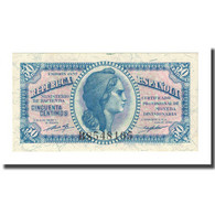 Billet, Espagne, 50 Centimos, 1937, KM:93, NEUF - Andere