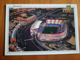 Madrid Atletico Vicente Calderon  Stadium Cartolina Stadio Postcard Stadion AK Carte Postale Stade Estadio - Calcio