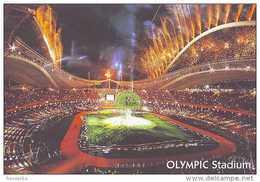 Athen Atene Olympic Spiros Louis Panathinaikos Cartolina Stadio Postcard Stadion AK Carte Postale Stade Estadio - Calcio