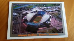 Sydney Telstra Olympic Stadium Cartolina Stadio Postcard Stadion AK Carte Postale Stade Estadio - Calcio