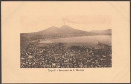 Panorama Da San Martino, Napoli, Campania, C.1910s - Zedda Cartolina - Napoli (Naples)