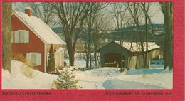 Advertising To Save Covered Bridge South Newbury Vermont To Haverhill, New Hampshire - Advertising