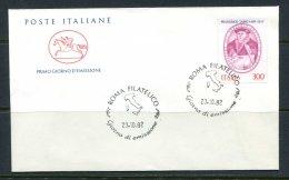 Italy C19 FDC 1982 1v Francesco Tasso Mail Organizer - Unclassified