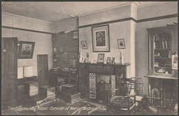 The Community Room, Convent Of Mercy, Bodmin, Cornwall, C.1920 - Postcard - England