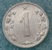 Czechoslovakia 1 Heller, 1957 - Czechoslovakia