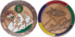 AC - 22nd WORLD MOUNTAIN RUNING TROPH IAAF 2006, BURSA, TURKEY MEDAL - MEDALLION - Tokens & Medals