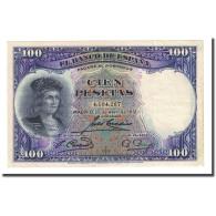 Billet, Espagne, 100 Pesetas, 1931-04-25, KM:83, TTB+ - [ 2] 1931-1936 : Repubblica