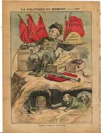 Clemenceau Revue Le Pélerin N° 1676 De 1909 Satirique Caricature Combes Ménélik Ethiopie - Otros