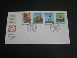 CYPRUS 1996  Mills Of Cyprus  FDC.. - Chypre (République)