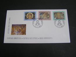 CYPRUS 1994 Christmas   FDC.. - Chypre (République)