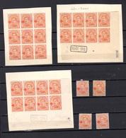 1918,  Belgique Albert 1er  Surchargé Croix-Rouge, Variétés, 150 ** Ou *, Cote 90 €, - 1915-1920 Albert I