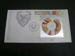 CYPRUS 1990 30th Anniversary Of The Rebulic Of Cyprus   FDC.. - Chypre (République)